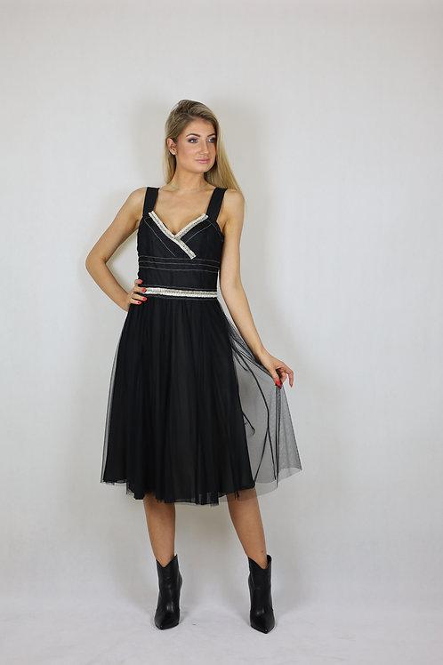 Sukienka wieczorowa Laurèl z tiulem
