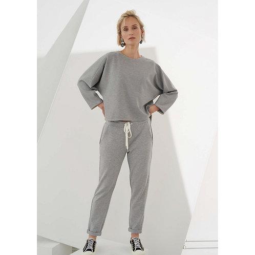 Szare spodnie dresowe MARGITTES