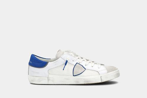 Biało-niebieskie sneakersy PRSX Philippe Model