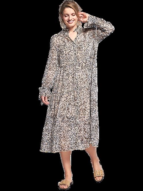 Sukienka midi w lamparci print RIANI