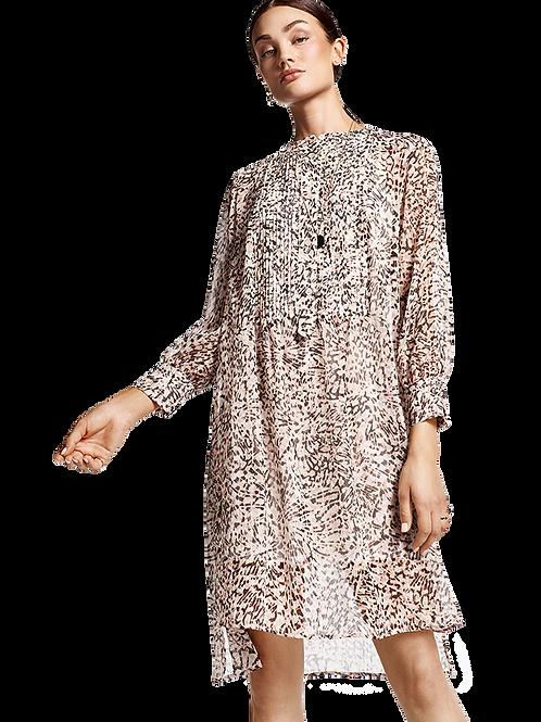 Koszulowa sukienka w lamparci print RIANI