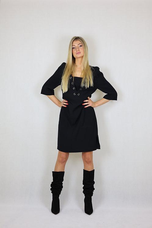 Czarna sukienka Laurèl