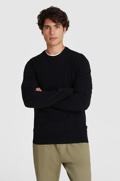 Wełniany sweter z okrągłym dekoltem WOOLRICH