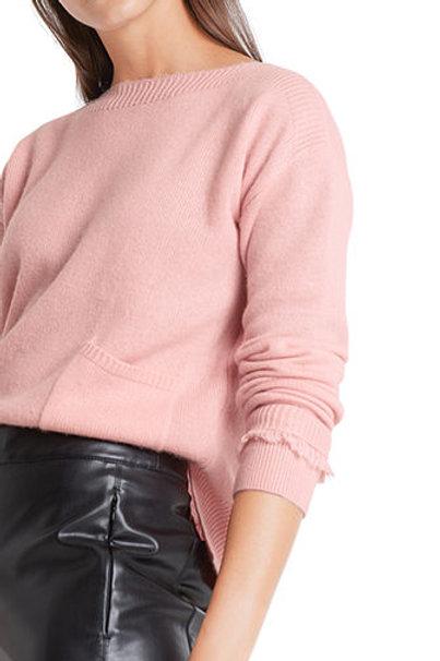 Kaszmirowy sweter z kieszonką Marc Cain