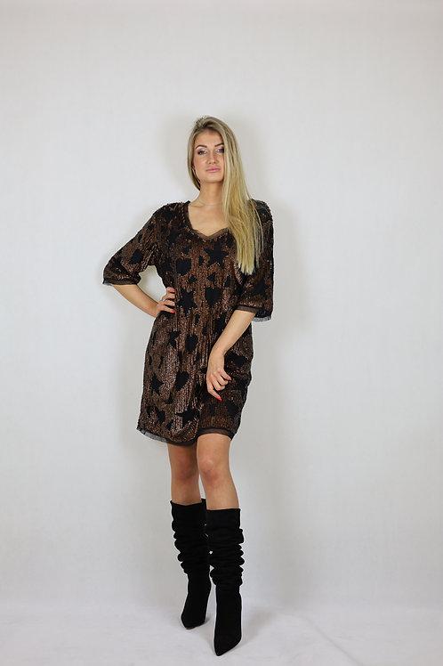 Sukienka z cekinami TWINSET
