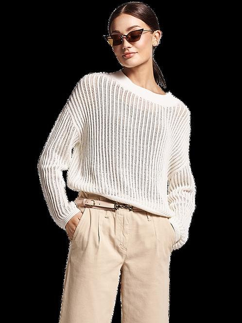 Prążkowany sweter RIANI