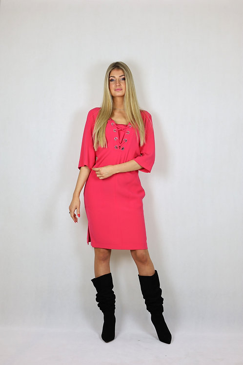 Różowa sukienka Laurèl