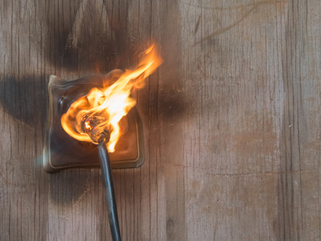 Top 5 reasons of electrical fires