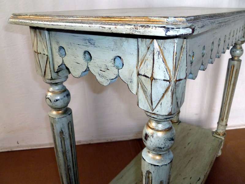 Faux Finished Sofa Table 2.JPG
