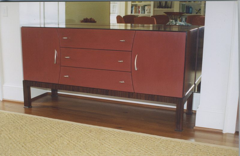 Contemporary Rosewood Side Chest.JPG