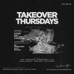 21_0729 - Takeover Thursdays