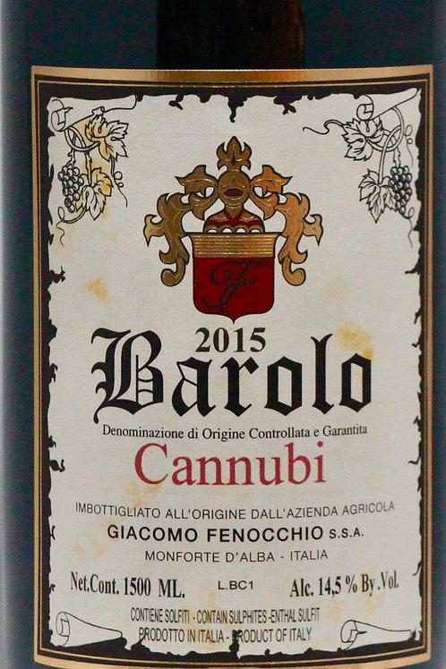 "Barolo ""Cannubi""DOCG 2015, Giacomo Fenocchio (1,5L)"