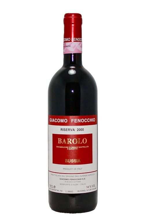 """Barolo """"Bussia"""" Riserva 2000, Giacomo Fenocchio"""