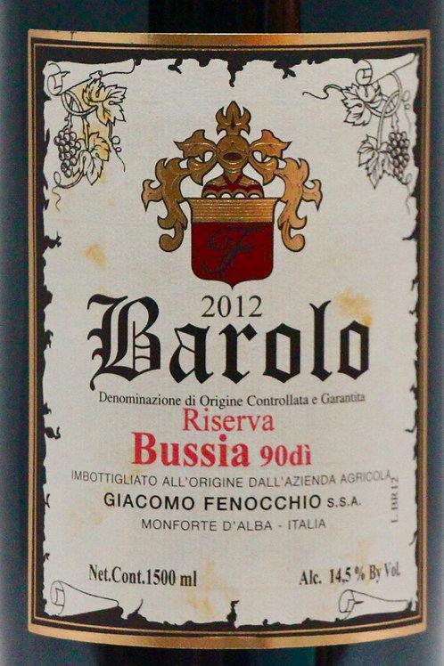 """Barolo 90dì """"Bussia"""" Riserva 2012 DOCG, Giacomo Fenocchio (1,5L)"""