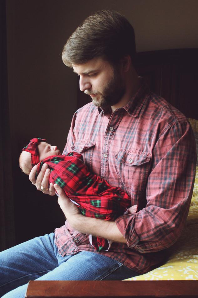 Christmas Newborn Photo Session