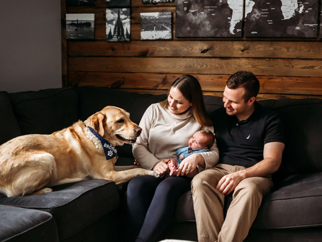 Baby Troy | The Importance of an In-Home Newborn Session | Buffalo