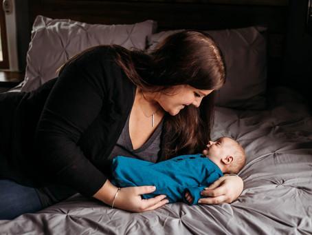 In-Home Christmas Newborn Session | Buffalo Newborn Photographer | Baby Kolton