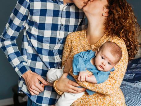 Baby Penny | Orchard Park Newborn Photographer | Mary Ann Cozza Photography