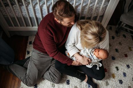 Indoor Newborn Session   Hertel - Buffalo, NY