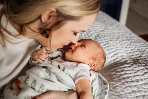 Indoor Newborn Session | Hertel - Buffalo, NY