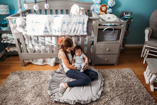 Indoor Newborn Portrait Session