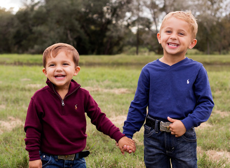 Fall Family Session | Hallettsville