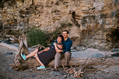 Lake Erie Couples Portraits | Derby, NY