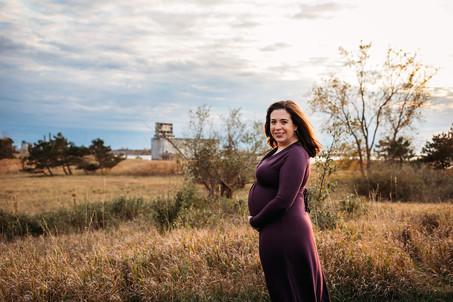 Tifft Nature Preserve Maternity Photo