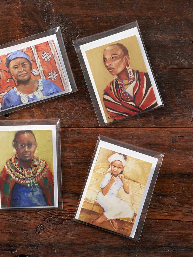 Faces of Kenya Works