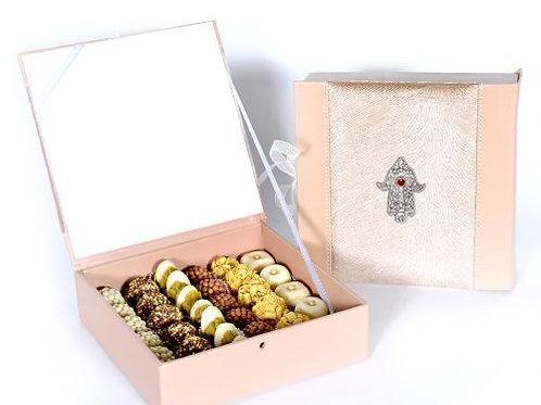 Coffret de chocolats Mme Jedidi 500g 35 pièces
