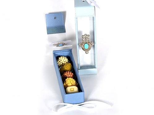 Coffret de chocolats Mme Jedidi 65g 5 piéces