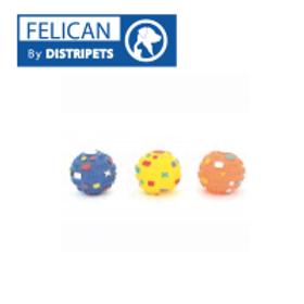 Felican Jouet Balle avec Pointe Vinyl 7 CM