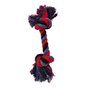 Felican Jouet Os en coton 2 nœuds 40cm