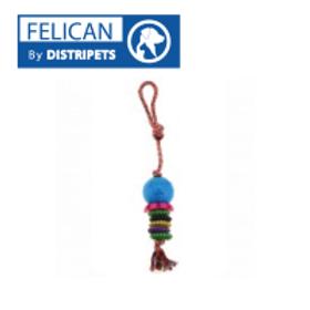Felican Jouet Dentaire avec Corde 45 CM
