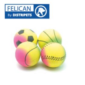 Felican Jouet Balle Néan Soft 5.7 cm X 2PCS