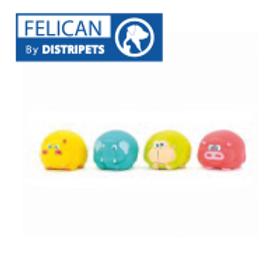 Felican Jouet Elephant Latex 7.5 CM