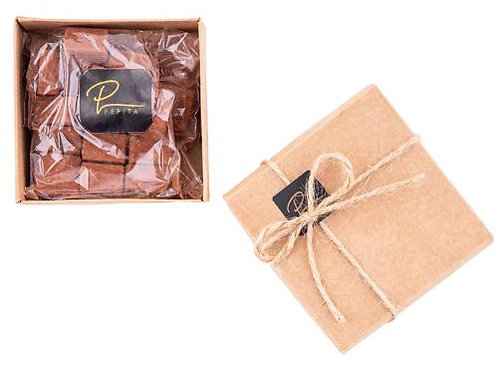 Mini Coffret Moelleux Chocolat noir Framboise Pépita D'Oro (150g)