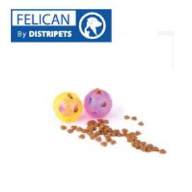 Felican Jouet Balle Distributeur de Croquettes 9.5 CM