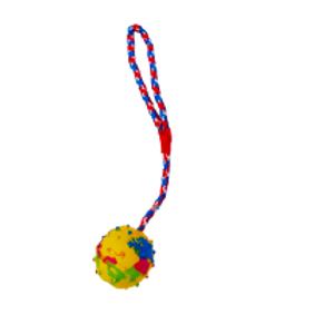 Felican Jouet Interactif Balle avec corde 7,5cm