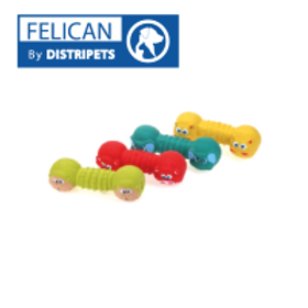 Felican Jouet OS Forme Animaux Latex 14 CM