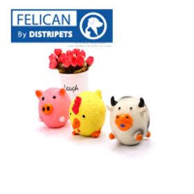 Felican Jouet Forme Animal Latex 7.5 CM