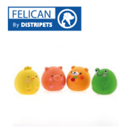 Felican Jouet OURS Latex 6.5 CM