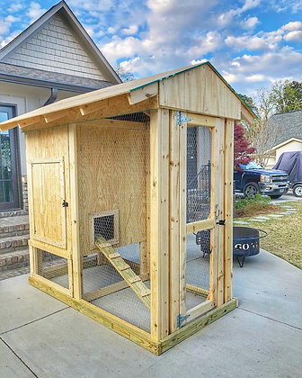 4x8 Chicken Coop Plans DIY