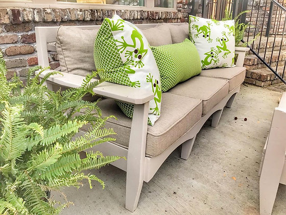 Modern Rustic Outdoor Couch