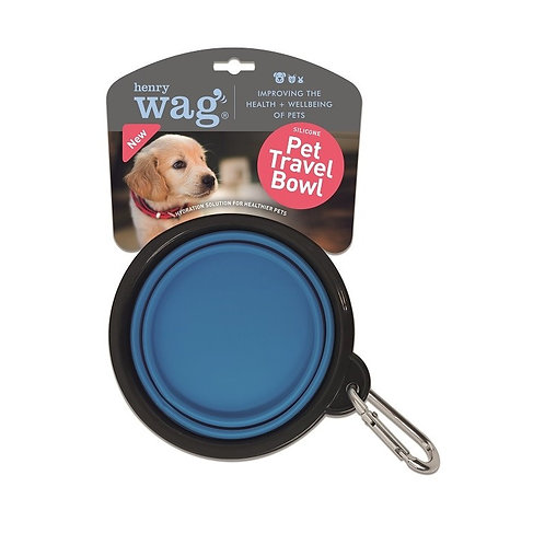 Henry Wag Travel Bowl