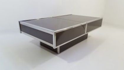 Table basse Willy Rizzo 1970