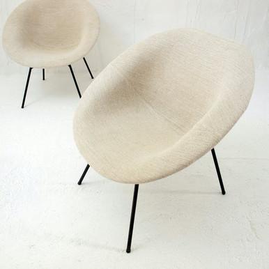 Paire de fauteuils de Claude Vassal 1950