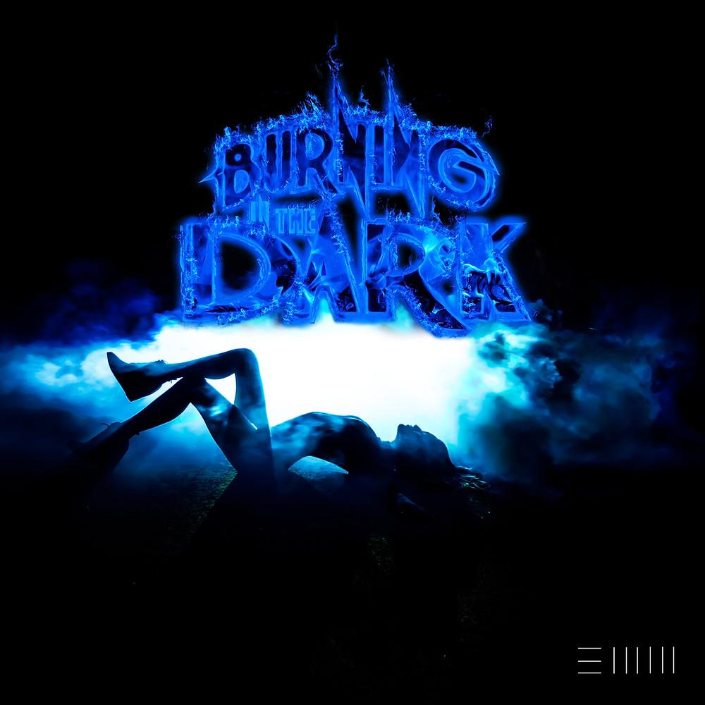 Emm Burning in the Dark Album Cover Art