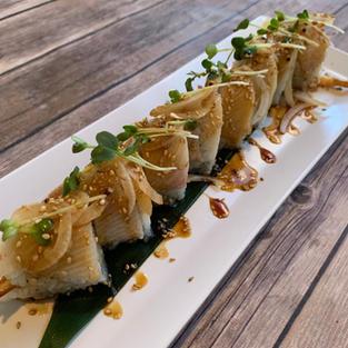 albacore crunch roll
