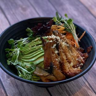 unagi avocado bowl